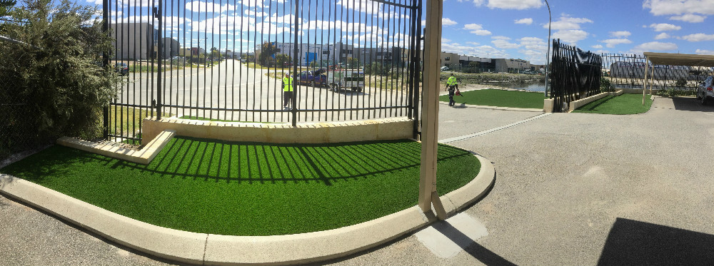 Commercial Artificial grass Perth installation