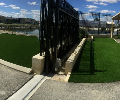 commercial artificial grass installation Perth
