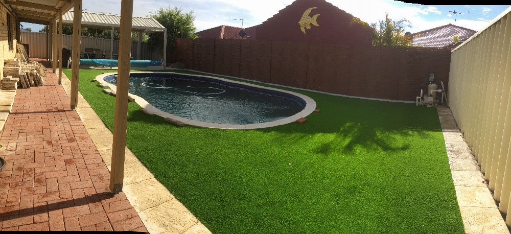 diy artificial turf fake grass lawn installation guide